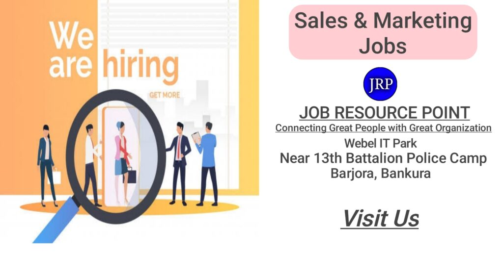Sales & Marketing Jobs in Bankura