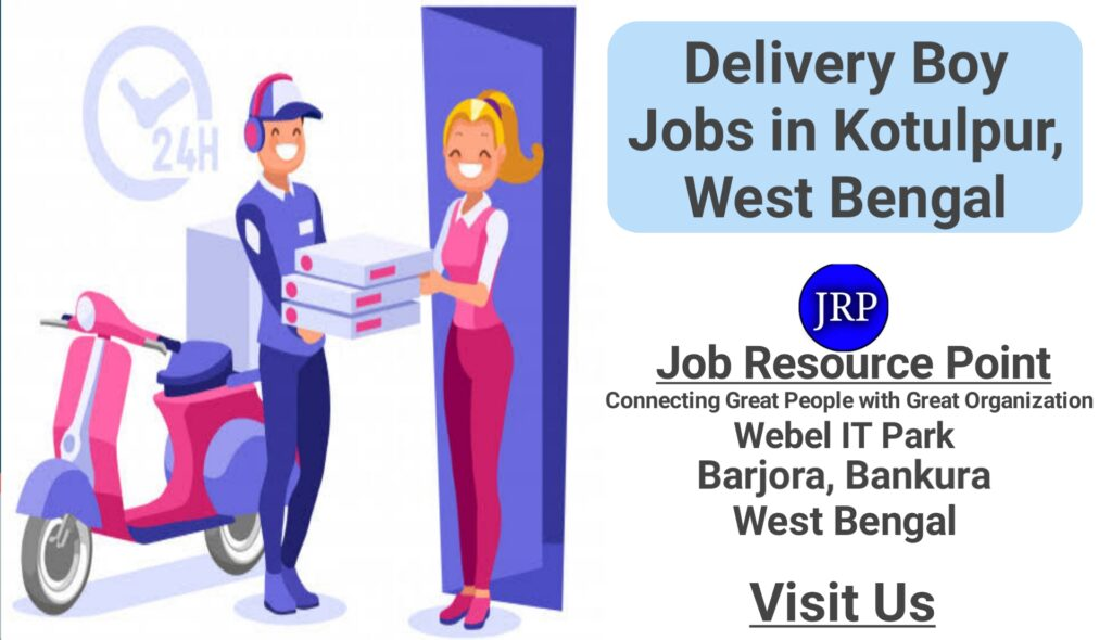 Delivery Boy Jobs in Kotulpur