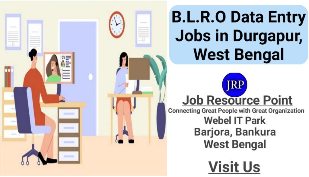 B.L.R.O Data Entry Jobs