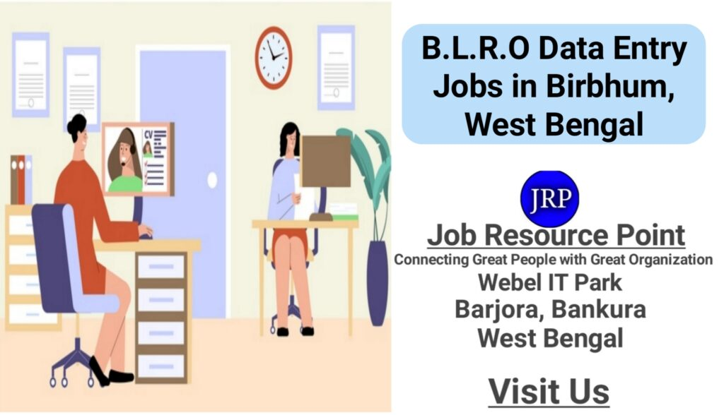 Data Entry Job in B.L.R.O