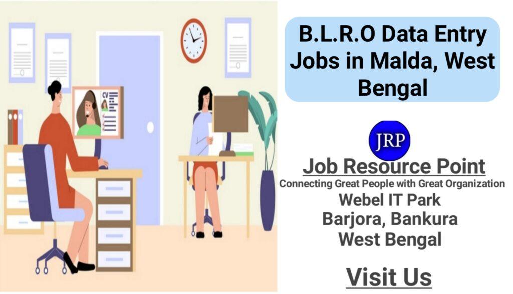 Data Entry Jobs in B.L.R.O