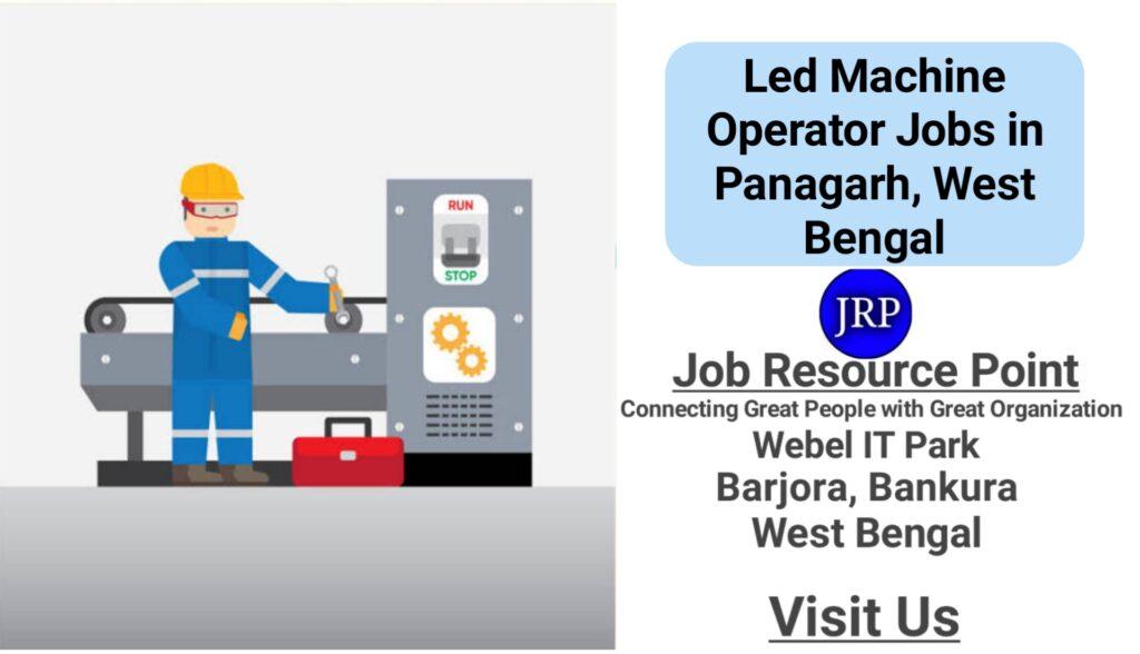 Led Machine Operator Jobs