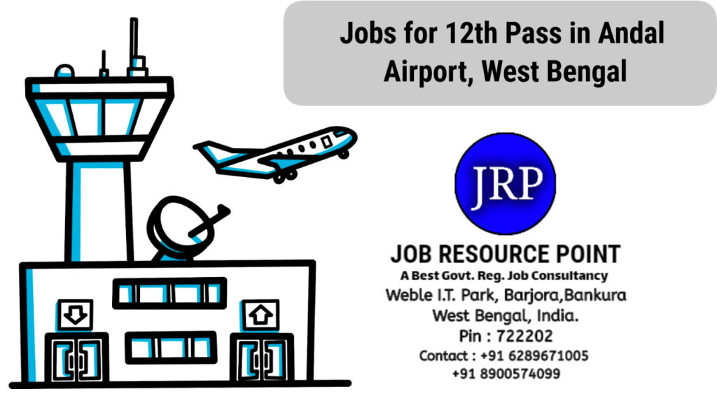 Jobs for 12th Pass in Airport, West Bengal