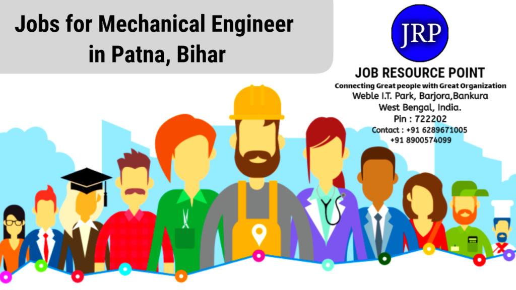 Jobs for Mechanical Engineer in Patna, Bihar