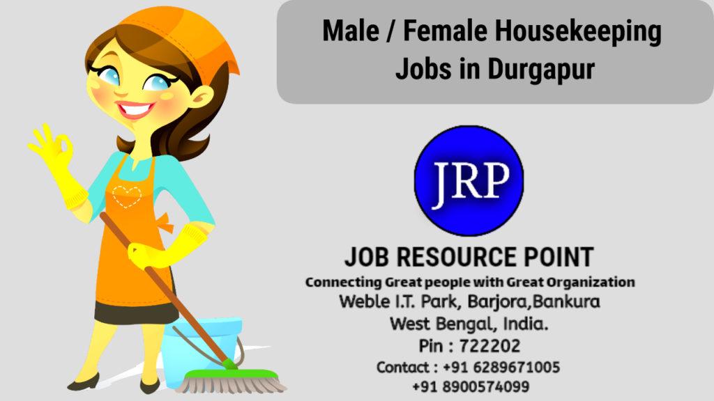 Male / Female Housekeeping Jobs in Durgapur, West Bengal