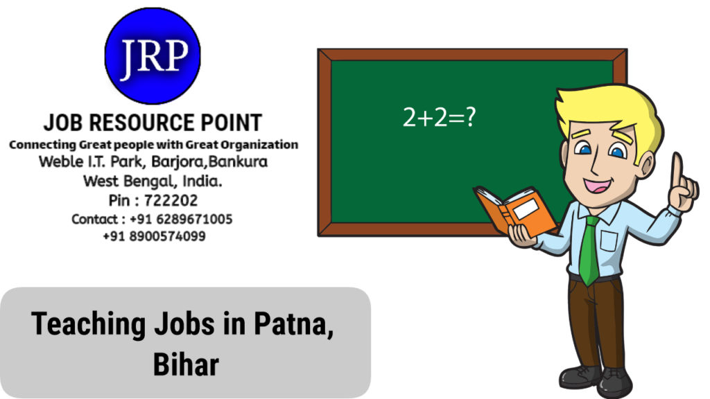 School Teaching Jobs in Patna, Bihar
