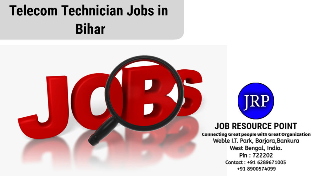 Telecom Technician Jobs in Bihar