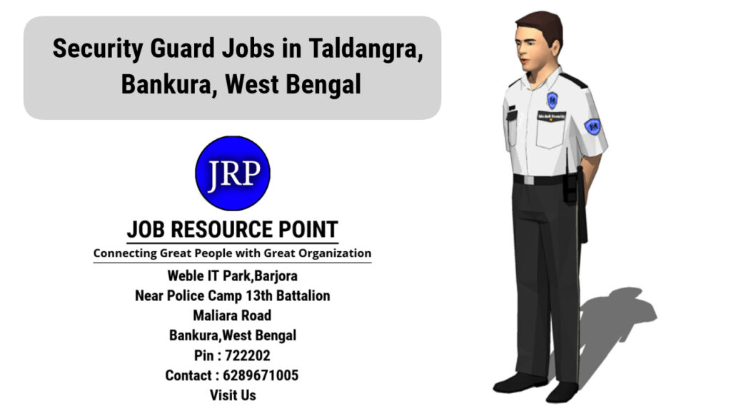 Security Guard Jobs in Taldangra, Bankura - West Bengal