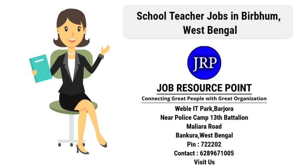 School Computer Teacher Jobs in Birbhum - Apply Now