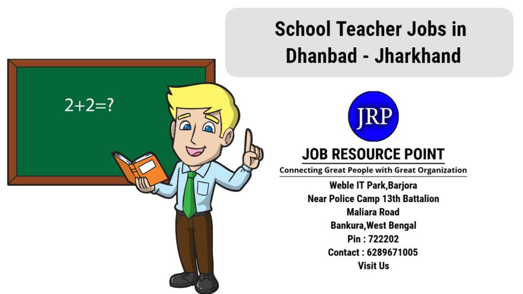 School Computer Teacher Jobs in Dhanbad - Jharkhand - Apply Now
