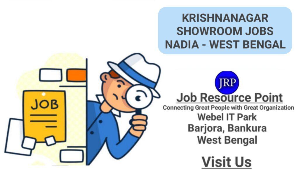 Krishnanagar Showroom Jobs
