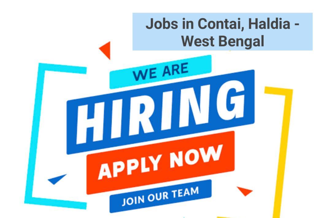 Jobs in Contai