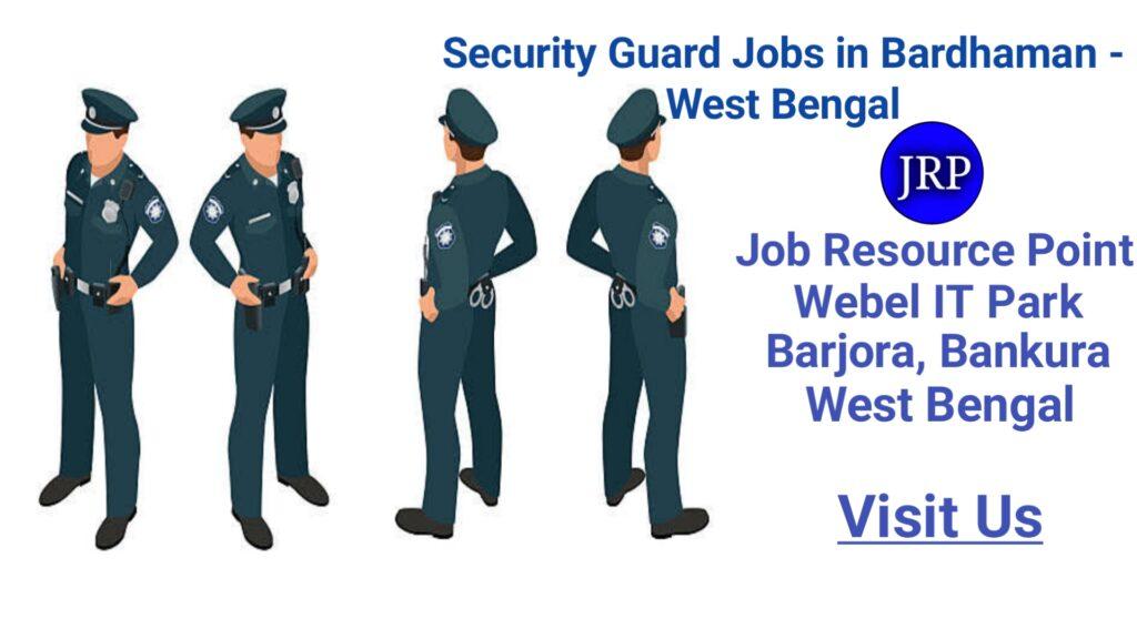 Security Guard jobs in Bardhaman